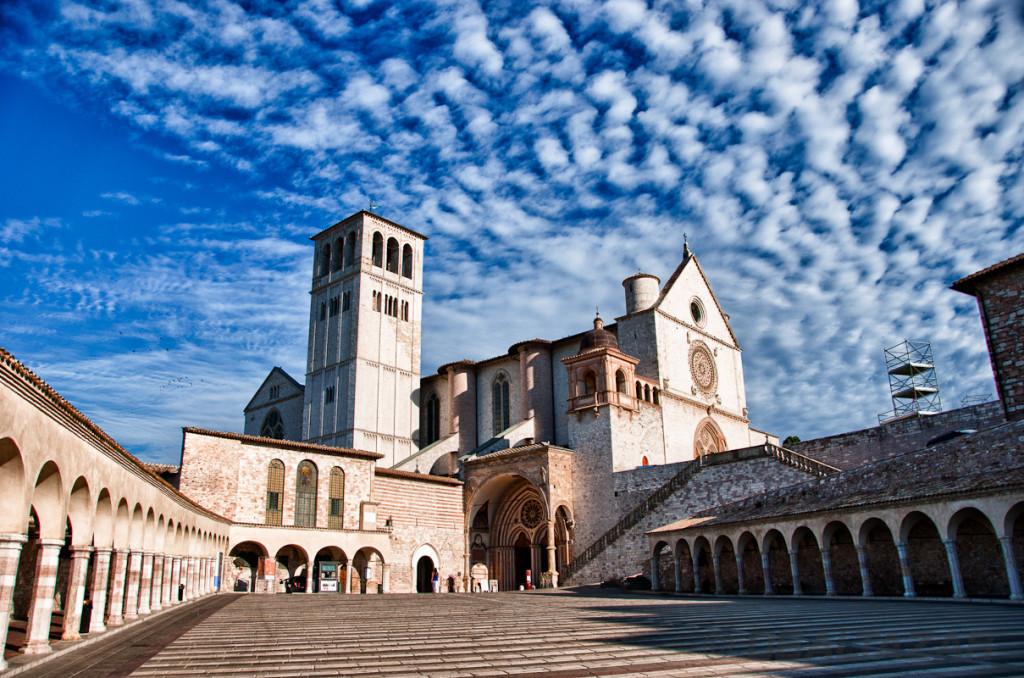 viaggio ad assisi basilica san francesco
