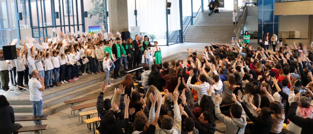 10° World Forum per la Pace – Villaggio della pace: giornata dedicata alle scuole